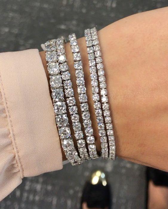 Diamond Tennis Bracelets by Ring Concierge