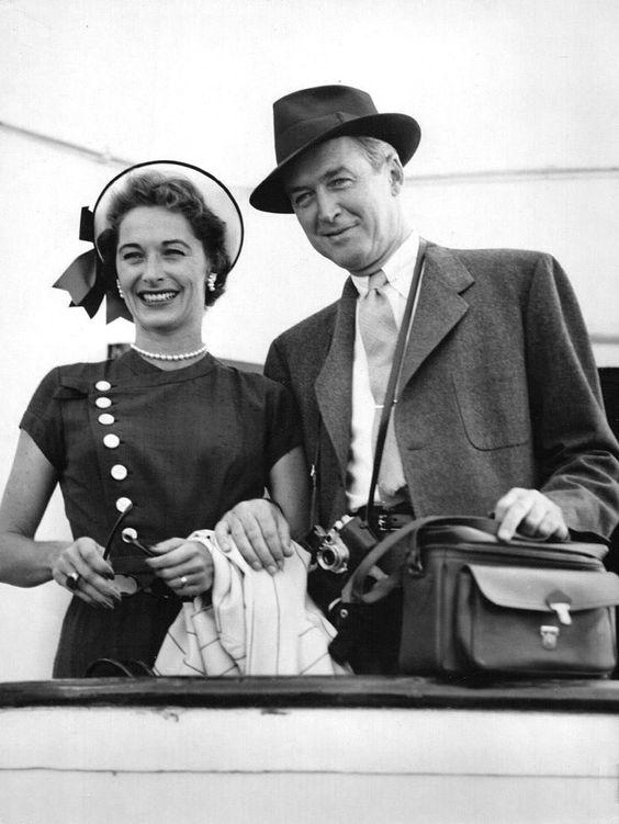 Jimmy and Gloria Stewart, 1950s