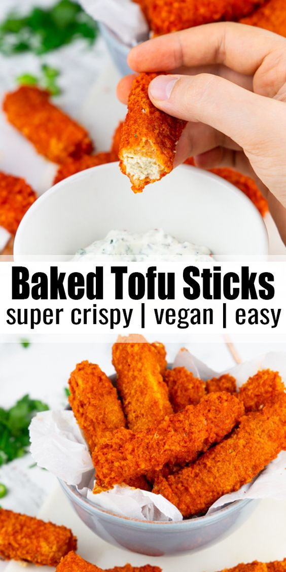 Baked Tofu Sticks