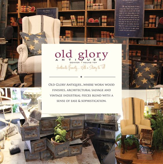 Old Glory Antiques found + favorite