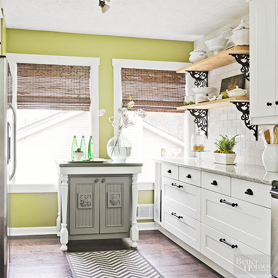 Popular Kitchen Paint Colors | Paint colors, Bamboo curtains and Pine