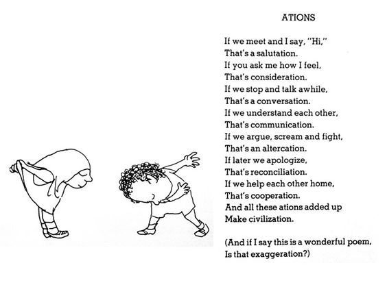 Any good sites that fully discuss Shel Silverstein's writing style?