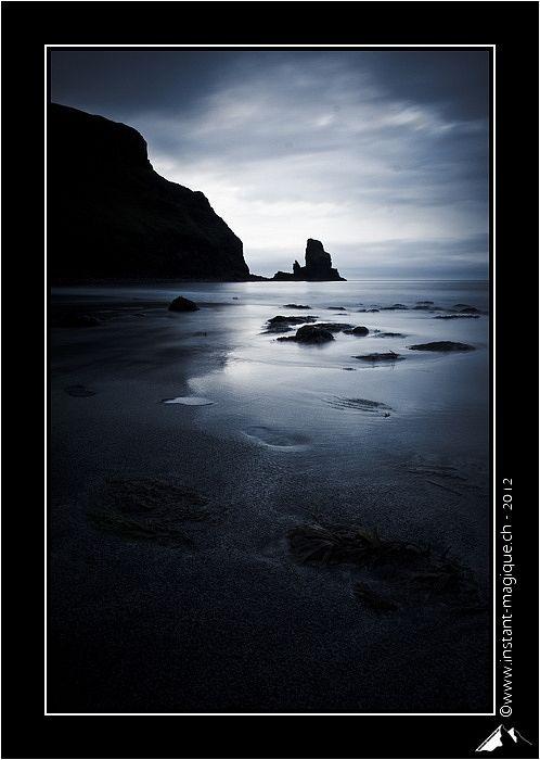 Darkness - Talisker Bay, Highland, Scotland