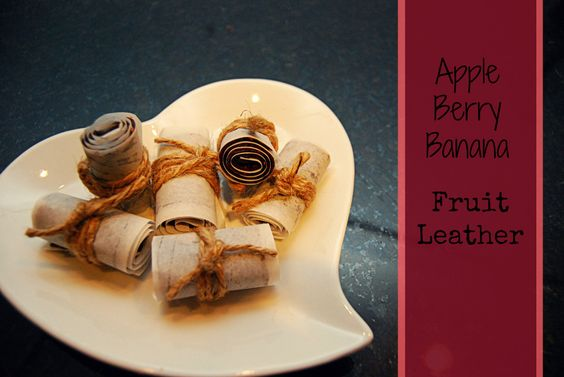 Apple Berry Banana Fruit Leather | Little Miss Mama