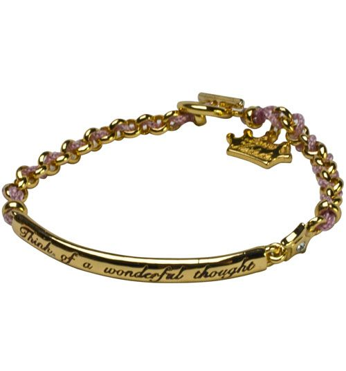 Peter Pan bracelet! Think of a Wonderful thought!