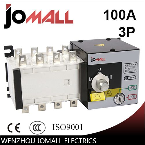 Jomall 100amp 220v 230v 380v 440v 3 Pole 3 Phase Automatic Transfer Switch Ats Transfer Switch Cool Things To Buy Pole