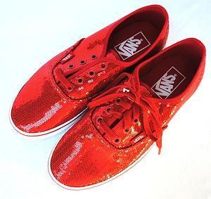 Vans womens glitter shoes