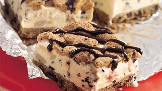 Cookie Dough Ice Cream Dessert o_o