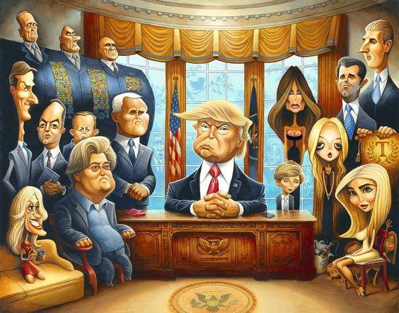 Top 10 Donald Trump caricaturesODD BlogOddonkey