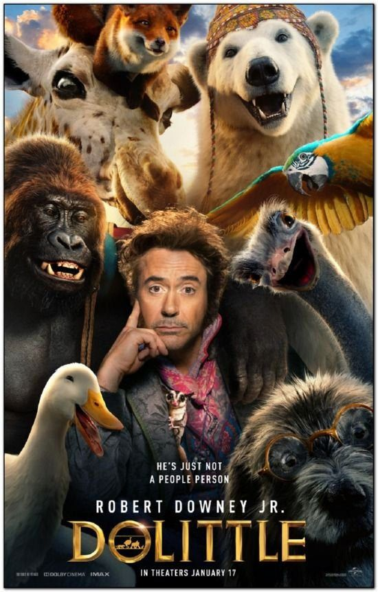 Dolittle 2020 Original 27x40 Movie Poster Advance Style Etsy Filmes Online Gratis Filmes Completos Filmes