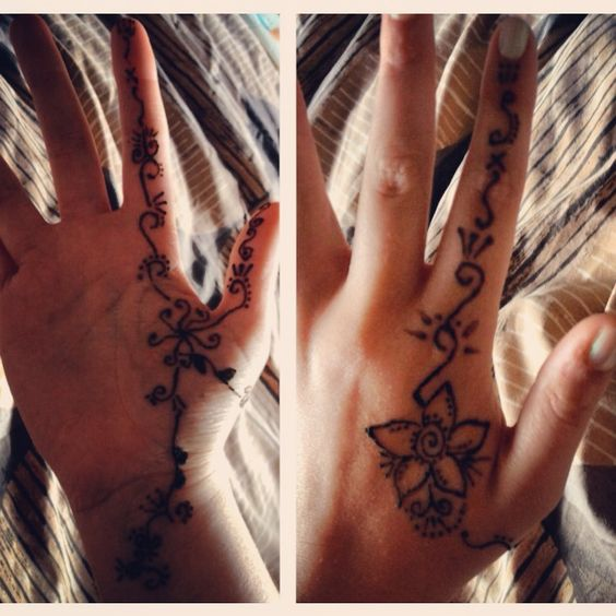 My henna tattoo #henna