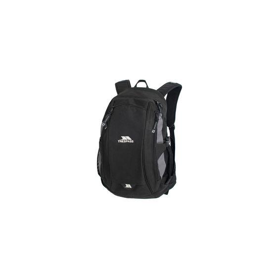Mugdock 20 litre black backpack | Trespass Europe