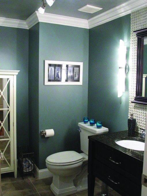 10 Paint Color Ideas For Small Bathrooms Homes Tre Stylish Bathroom Teal Decor Design