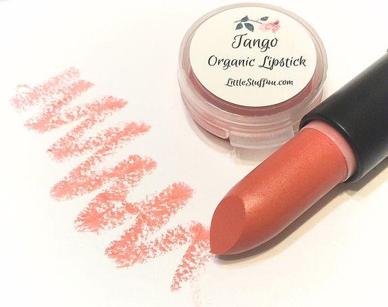 Natural Organic Lipstick - Tango