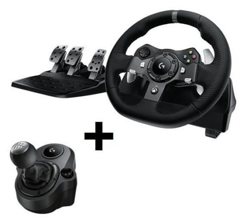 Logitech G920 Xbox Wheel G Driving Force Shifter For Xbox One And Pc Combo Video Game Accessories Video Games Pc Xbox One