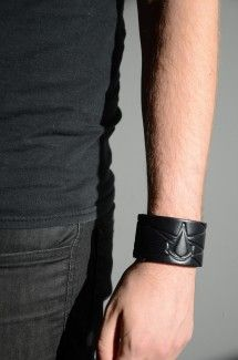Assassin's Creed Leather Wristband