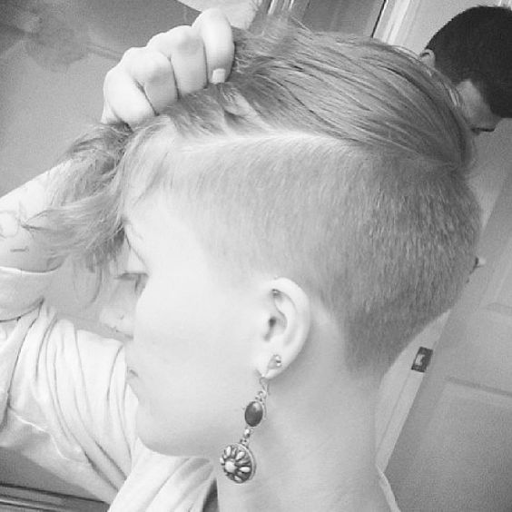 Hot undercuts. I have my hair like that and LOVE it!! And the girls do too :-P