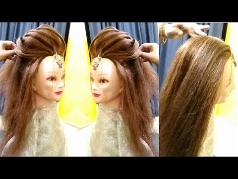 Puff Hairstyle Latest 3d Layers Puff Hairstyle Puff Hairstyle Hack Advance Hairstyle Youtube Party Hairstyles For Long Hair Hair Styles Hair Puff