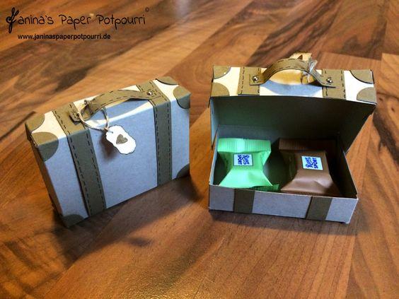jpp - Koffer Verpackung /  Suitcase Goodie / treat box / Stampin' Up! Berlin www.janinaspaperpotpourri.de