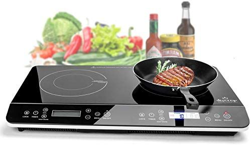 New Duxtop 9620ls Lcd Portable Double Induction Cooktop 1800w