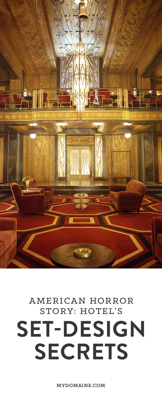 Design secrets from american horror story hotel s set for Ahs hotel decor