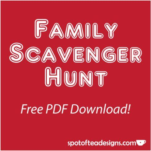 Geeky image with regard to family reunion scavenger hunt printable