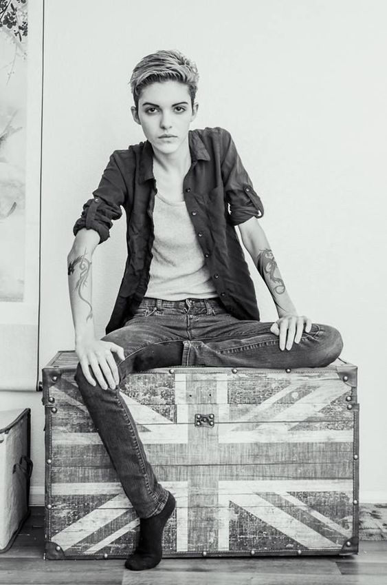 Image result for cool androgynous outfits