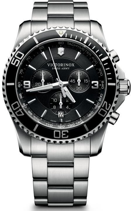 Victorinox Swiss Army Watch Maverick Chronograph #bezel-unidirectional #bracelet-strap-steel #brand-victorinox-swiss-army #case-material-steel #case-width-43mm #chronograph-yes #classic #date-yes #delivery-timescale-call-us #dial-colour-black #gender-mens #movement-quartz-battery #official-stockist-for-victorinox-swiss-army-watches #packaging-victorinox-swiss-army-watch-packaging #style-sports #subcat-maverick #supplier-model-no-241695…