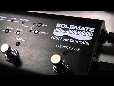 NAMM 2015: Source Audio Solemate - Fußschalter als MIDI Controller - http://www.delamar.de/musik-equipment/source-audio-solemate-26550/?utm_source=Pinterest&utm_medium=post-id%2B26550&utm_campaign=autopost