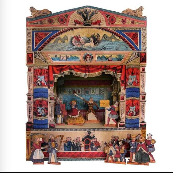 Pollock's Toy Theatre. Their Covent Garden shop is now stocking Louise…