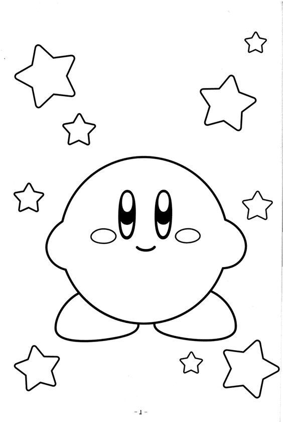 Atractivo Colorear Hielo Kirby Cresta - Ideas Para Colorear ...
