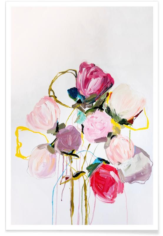 Garden Roses Poster Juniqe Floral Prints Art Plant Art Print Art Prints Online