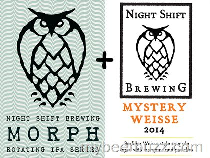 mybeerbuzz.com - Bringing Good Beers & Good People Together...: Nigh Shift Morph & Mystery Weisse Coming 11/18