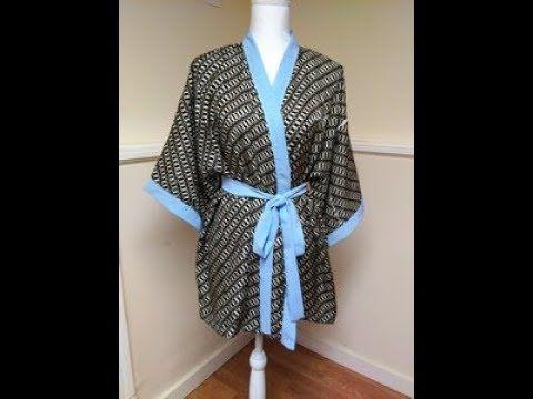 تفصيل و خياطة الروب الكيمونو هوايتي Youtube Fashion Couture Women S Blazer