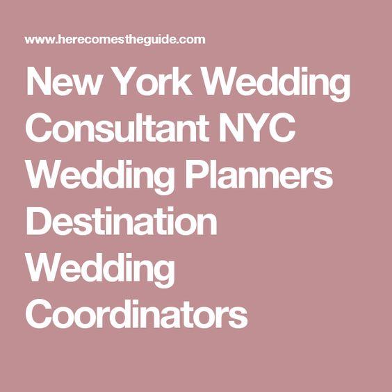 New York Wedding Consultant NYC Wedding Planners Destination