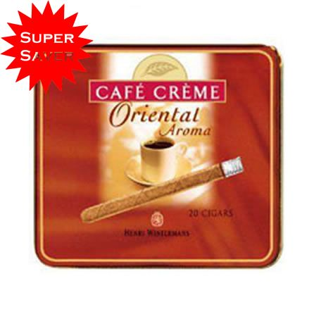 Henri Wintermans Cafe Creme Oriental Cigarillos (5 x 20 Cigars) Special Price: £23.79 Only.
