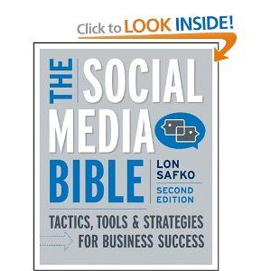 A must have for anyone who works with SM or wants to understand the intricacies of it. From explanation of SMM tools, basics, background & strategy the SM Bible is a great resource to have. It's one of the only text book style books on the topic I've found to be useful. It's a pretty hefty book, so if you want to cart it around with you, you should purchase the electronic version... I've always preferred hard copies at my desk, but that's just me. They are releasing a new edition for 2012 in…