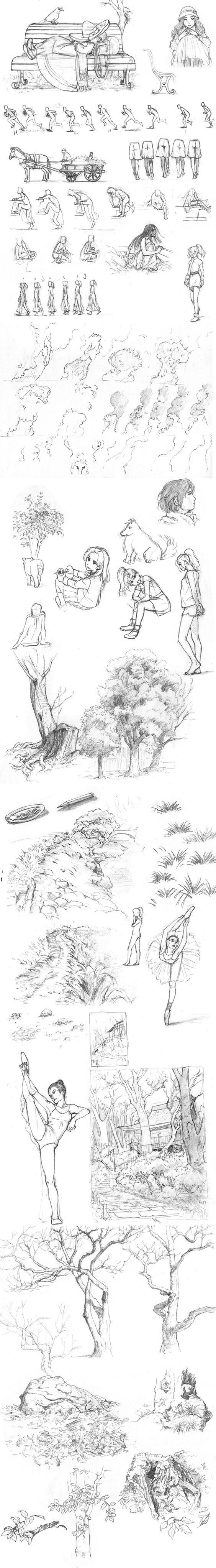 Pencil practice by Evaty.deviantart.com