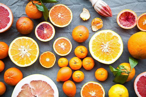 Winter Inspiration  Zitrusfrüchte sorgen für gute Laune und viel Vitamin C Winter Inspiration: Citrus / The Year in Food
