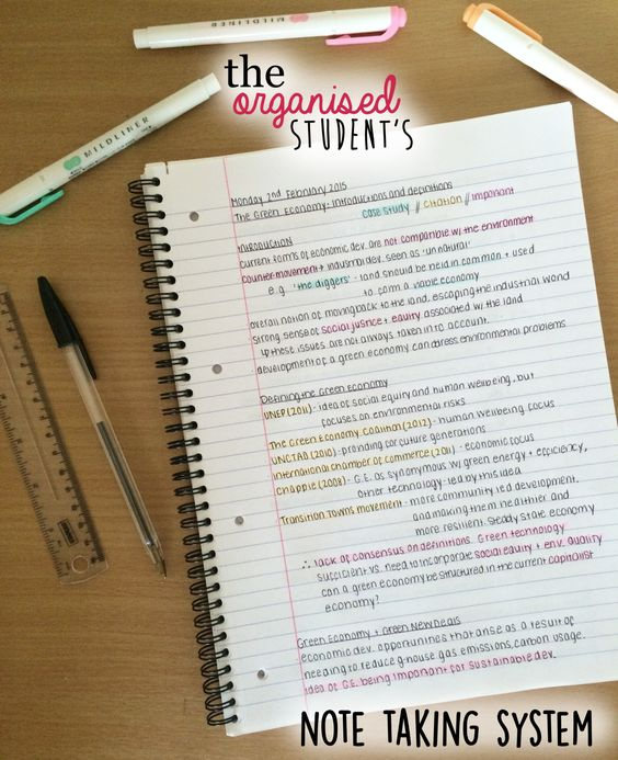I get a lot of questions about how I take my lecture notes, and so I thought a quick post might be helpful!