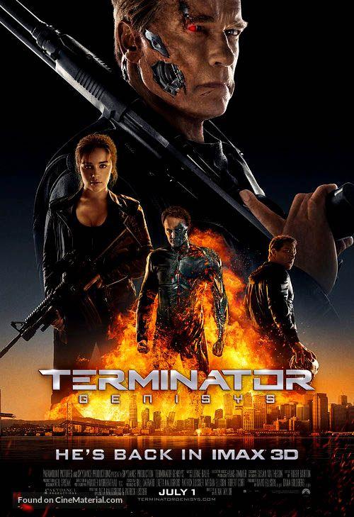 Terminator Genisys 2015 Terminator Genisys Terminator Terminator Movies