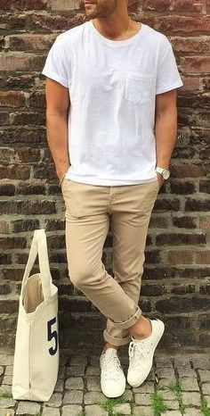 Here are the top 3 looks that you can give a whirl with the help of your basic white t-shirt.: