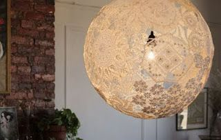 DIY lamp shade