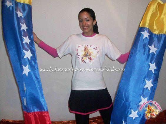 """Cintas, Streamers, Listones, Heraldos de la Bandera de Venezuela. DEMOS con las DANZAS (Salmo 149:3) / GIVE with DANCES (Psalm 149:3) / VENEZUELA / (Hermana Angela Rojas). WEBSITE: http://www.ladanzacristiana.wix.com/alabanza """"ÚNETE"""" a DEMOS con las DANZAS en Facebook, Twitter, YouTube, Instagram, Pinterest, Google +). Other Tags: Praise Dance, Danza Cristiana, Demos con las Danzas, Instrumentos de Danza Cristiana."""