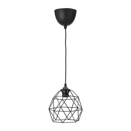 Brunsta Hemma Pendant Lamp Black 8 Hanglamp