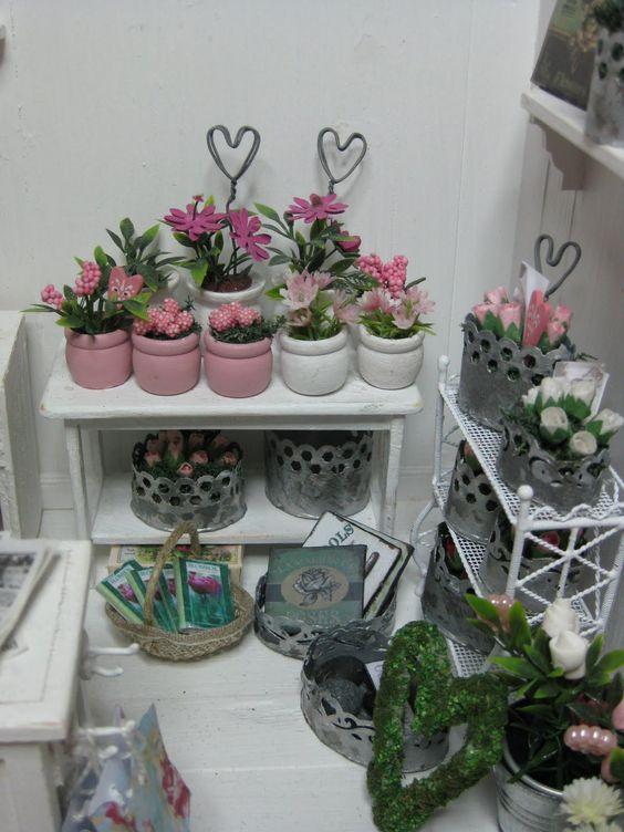 My Flower shop- miniatyrmama