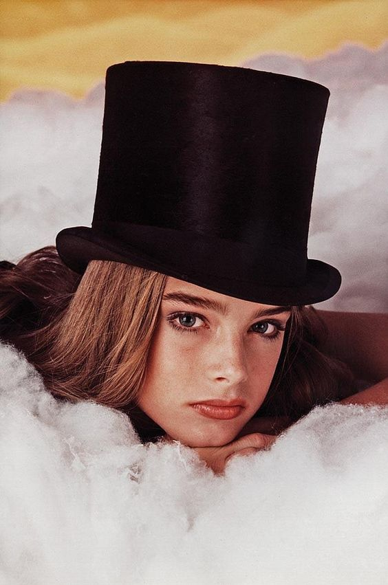 Brooke Shields by Garry Gross