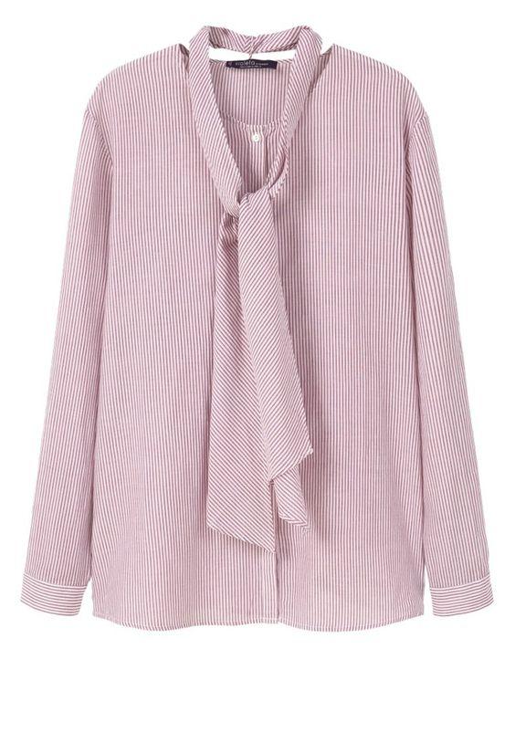 Violeta by Mango Bluse red Bekleidung bei Zalando.de | Material Oberstoff: 100% Baumwolle | Bekleidung jetzt versandkostenfrei bei Zalando.de bestellen!