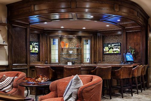 Charming 7 Reasons Why The BEST Home Bar Design Is A Corner Layout. Do You Agree? | Home  Bars | Pinterest | Bar, Basements And Wet Bars