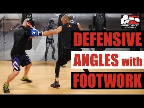 Create Defensive Angles With Footwork Control Distance And Pace Youtube Boxing Techniques Fight Techniques Boxing Training Workout